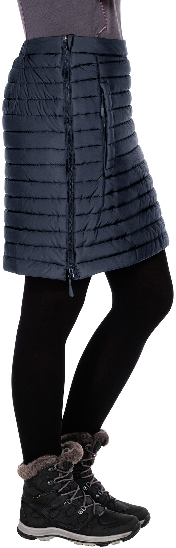 Jack Wolfskin Iceguard Skirt Women Blue At Addnature Co Uk